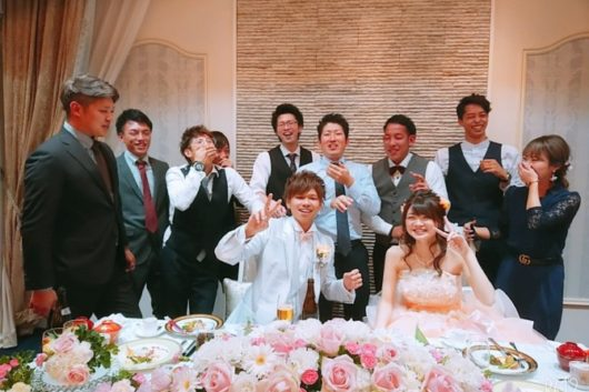 友人の結婚式に行ってきました。