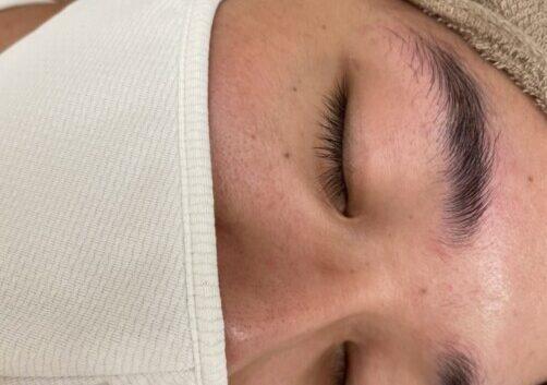 眉毛ワックス体験